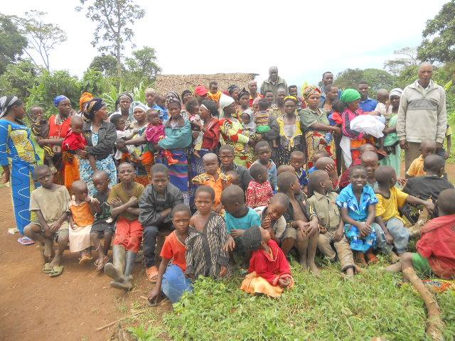 Rwandan Children Refugees in DRC - Oct 2014